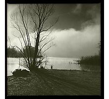 Early morning at Lake Wallace Photographic Print