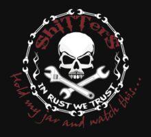 Shitters Logo Hold My Jar T-Shirt