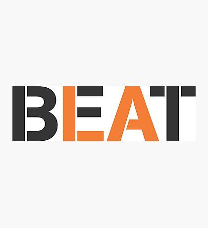 Beat LA (stencil style) Photographic Print