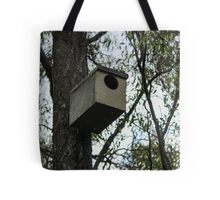 Home Up High By Matthew Lys Tote Bag
