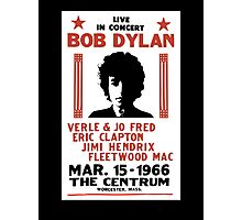 Bob Dylan 1966 Photographic Print