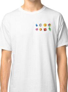 Gym Badges Classic T-Shirt