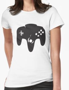 N64 Controller Womens Fitted T-Shirt