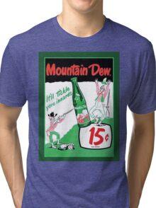Mountain Dew Ad Tri-blend T-Shirt