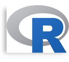 R Programming Language Canvas Print