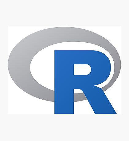 R Programming Language Photographic Print