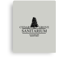 Cedar Grove Sanitarium  Canvas Print