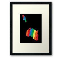 Live Aid Concet 1985 Framed Print