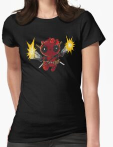 Hello Captain KittyPool Womens Fitted T-Shirt