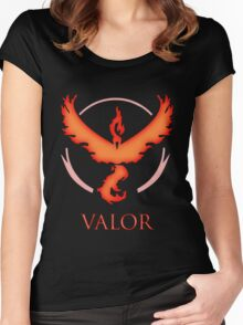 Team Valor | Pokemon GO Women's Fitted Scoop T-Shirt