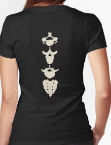 Parts of The Spine Womens Fitted T-Shirt