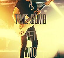 alex gaskarth time bomb by sarahaque