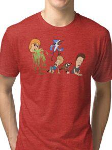 Ultimate Cartoon Mashup Tri-blend T-Shirt