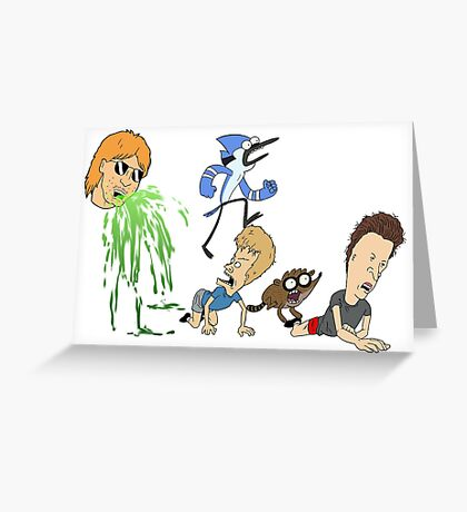 Ultimate Cartoon Mashup Greeting Card