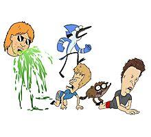 Ultimate Cartoon Mashup Photographic Print