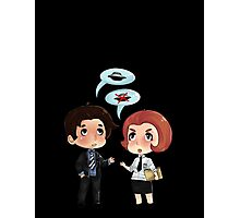 Scully and Mulder  Photographic Print