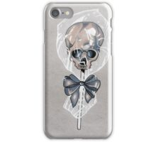 Skull lollipop iPhone Case/Skin