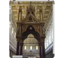 Tabernacle of Confession of the Basilica of St. Paul iPad Case/Skin