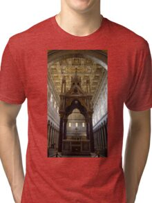 Tabernacle of Confession of the Basilica of St. Paul Tri-blend T-Shirt