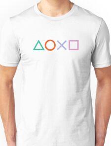 PS4 Controller Buttons Unisex T-Shirt