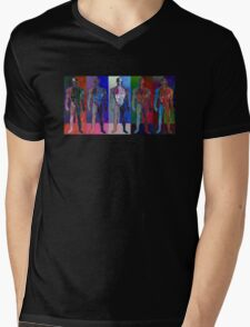The Human Body Mens V-Neck T-Shirt