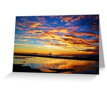 Sunset Supreme Greeting Card