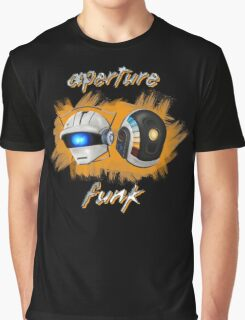 Aperture Funk - Orange Graphic T-Shirt