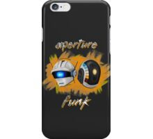 Aperture Funk - Orange iPhone Case/Skin