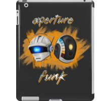 Aperture Funk - Orange iPad Case/Skin