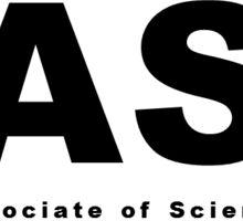 AS (Associate of Science) Oval Sticker