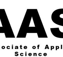 AAS (Associate of Applied Science) Oval Sticker