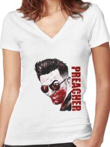 Cassidy PREACHER VERTIGO VAMPIRE comic book Women's Fitted V-Neck T-Shirt