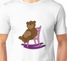 bear in chair Unisex T-Shirt