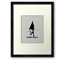 Pyramid Head Framed Print