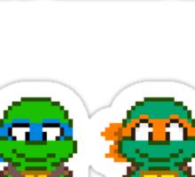 Select Your Turtle (Donatello) - TMNT Pixel Art Sticker