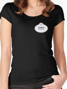 Chris From Orlando Women's Fitted Scoop T-Shirt