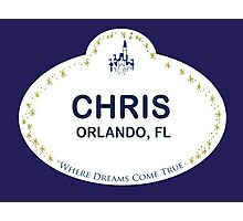 Chris From Orlando Photographic Print