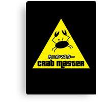 Crab Master Canvas Print