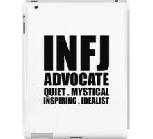 INFJ Advocate Introvert iPad Case/Skin