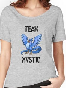 Pixelated Team Mystic Women's Relaxed Fit T-Shirt