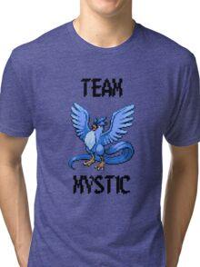 Pixelated Team Mystic Tri-blend T-Shirt