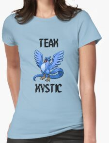 Pixelated Team Mystic Womens Fitted T-Shirt