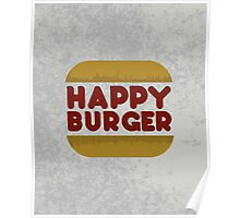 Happy Burger Poster