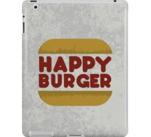 Happy Burger iPad Case/Skin