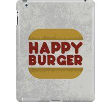 Happy Burger iPad Case/Skin