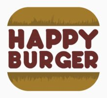 Happy Burger Baby Tee
