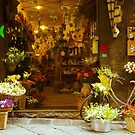 Naples Shopping by Barbara  Brown