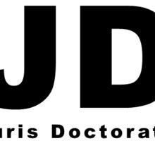 JD (Juris Doctorate) Oval Sticker