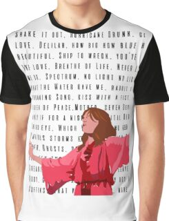 Florence and the Machine Red Graphic T-Shirt