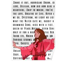 Florence and the Machine Red Poster